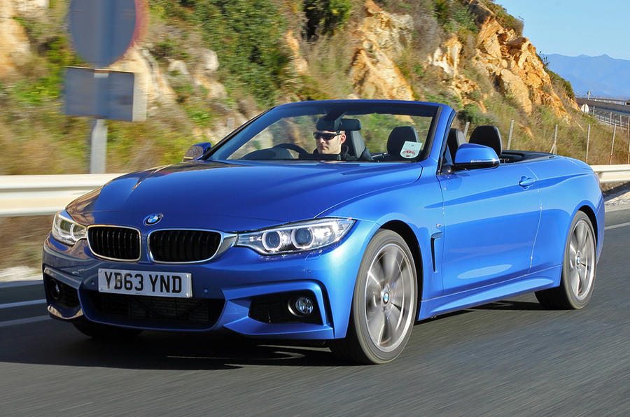 bmw 4 series 435i m sport convertible uk first drive. Black Bedroom Furniture Sets. Home Design Ideas