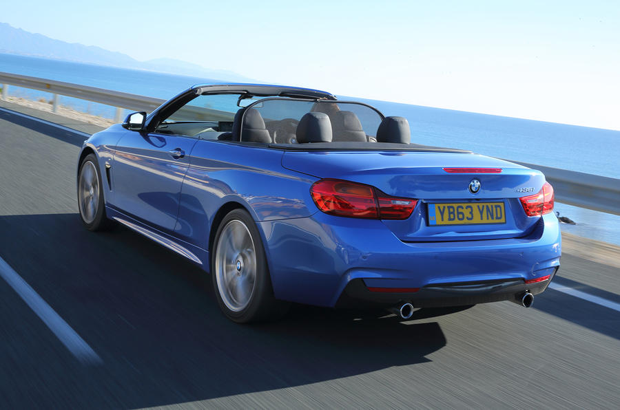 BMW 435i convertible rear