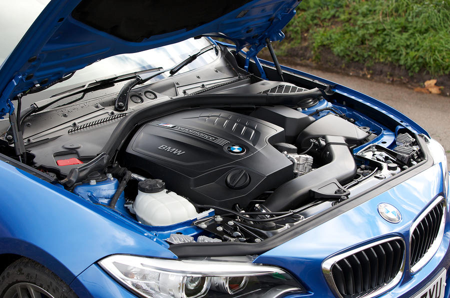 3.0-litre BMW 435i petrol engine