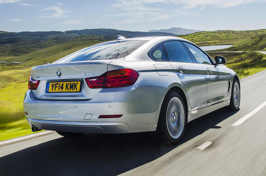 BMW 4 Series Gran Coupé rear
