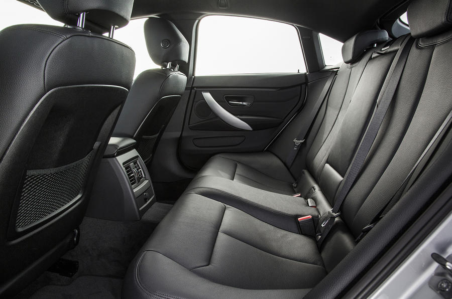 BMW 4 Series Gran Coupé rear seats