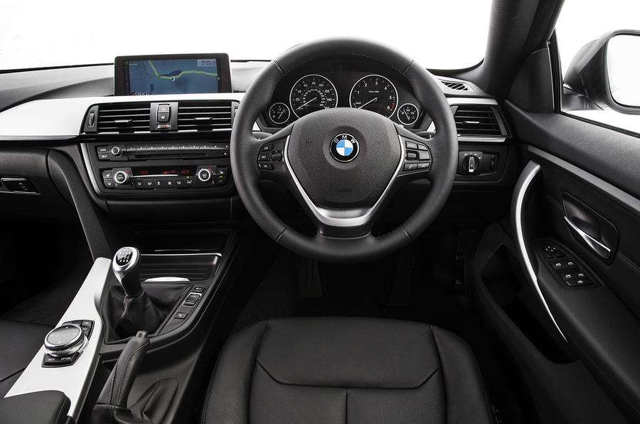 BMW 4 Series Gran Coupé interior