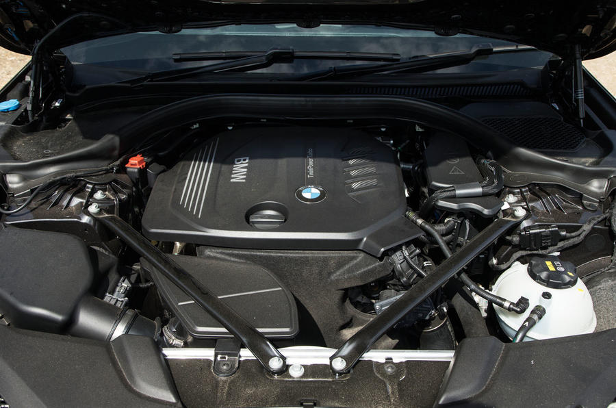 2.0-litre BMW 5 Series diesel engine