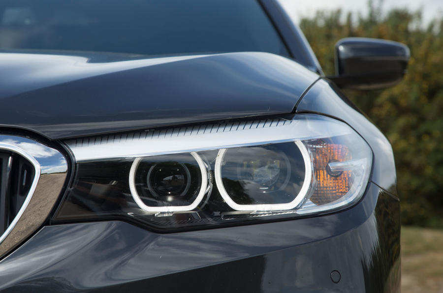 BMW 5 Series LED headlights