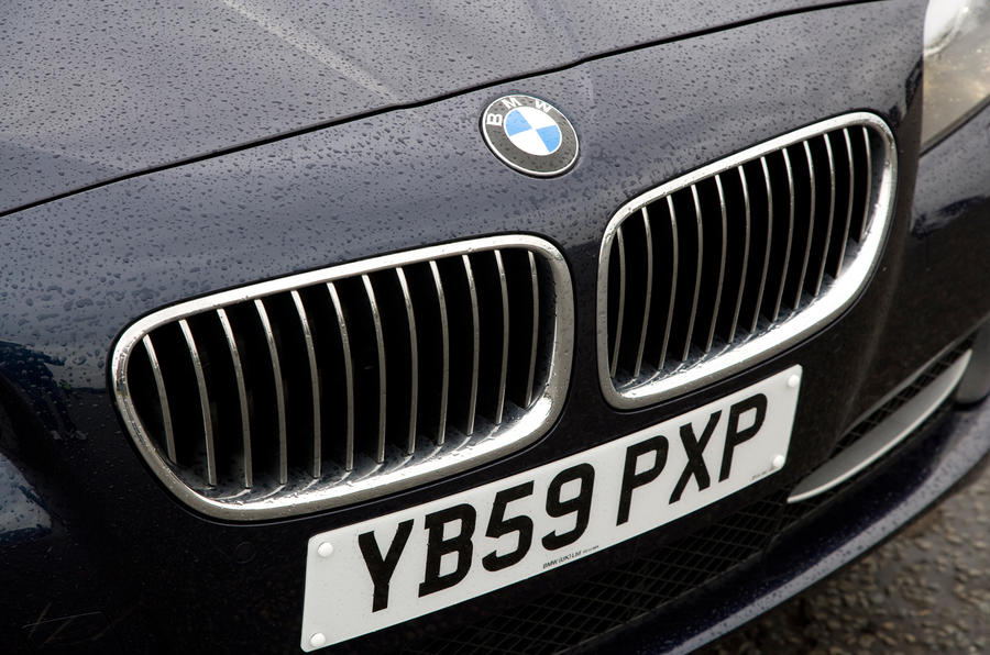 BMW 5 Series kidney grille