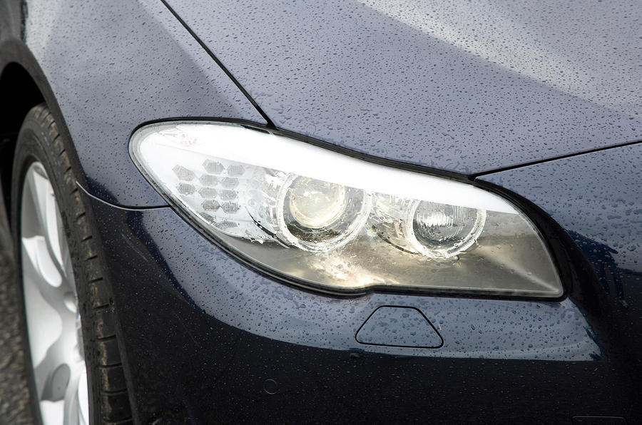 BMW 5 Series headlights