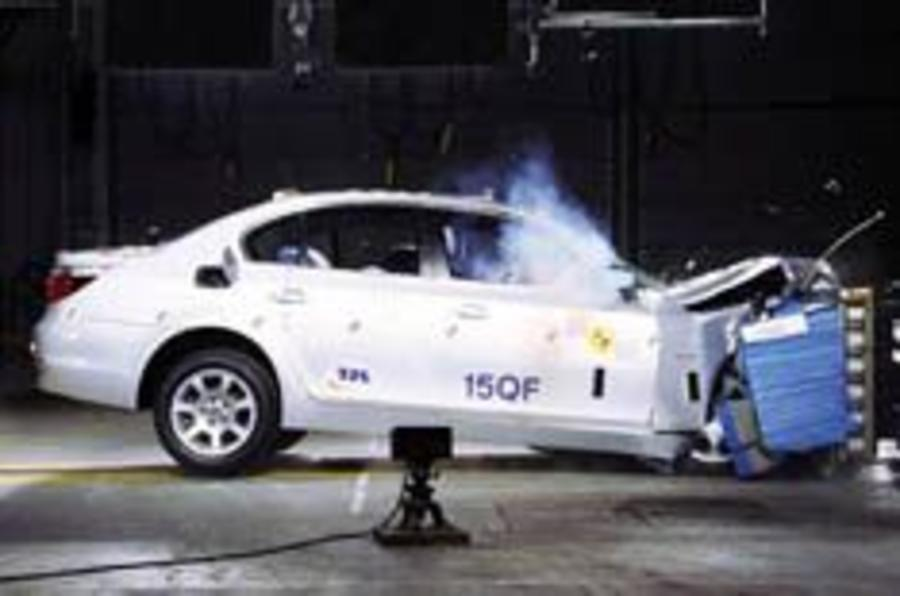 BMW slammed for poor crash tests