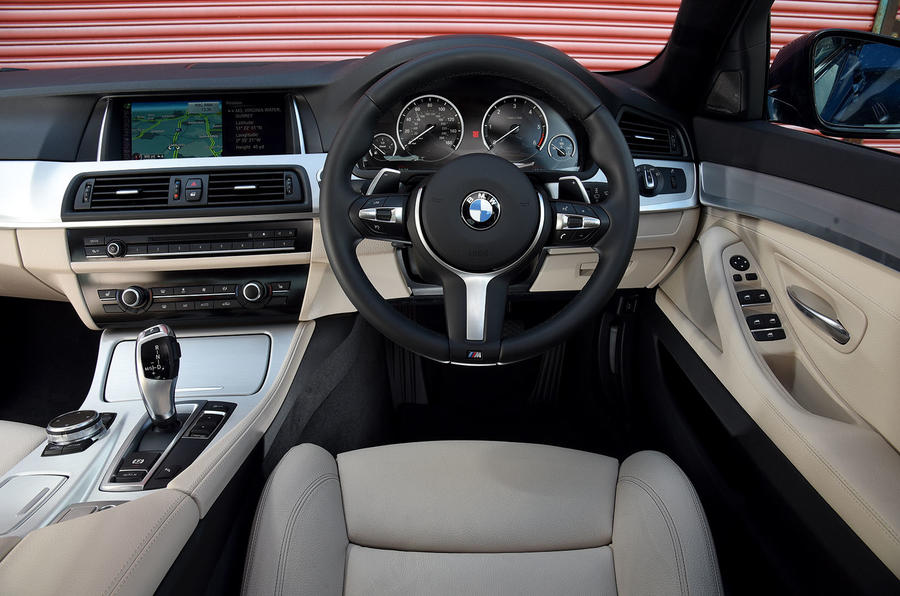 BMW 5 Series dashboard