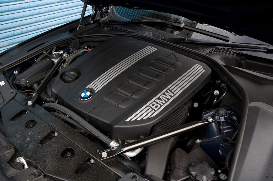 BMW 5 Series diesel engine