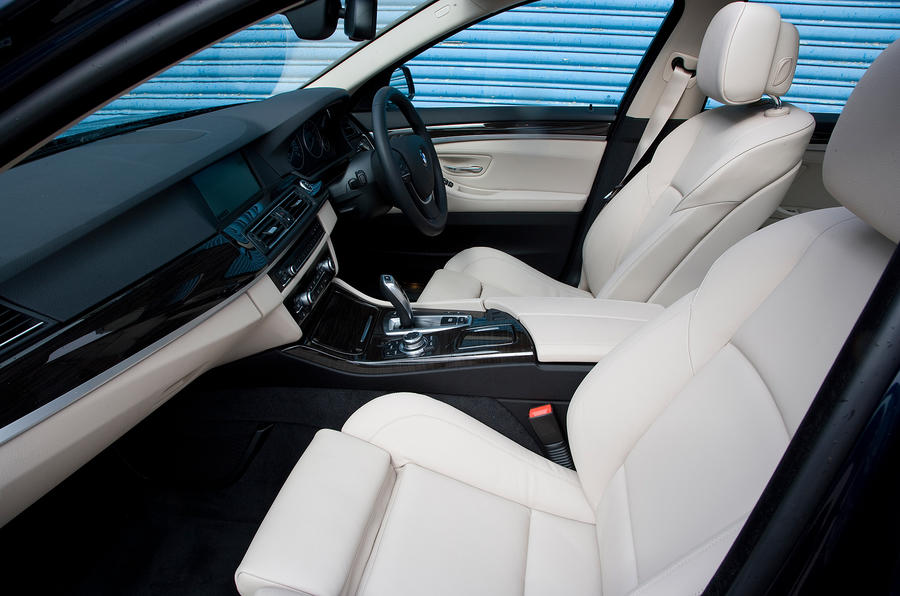 BMW 5 Series front seats