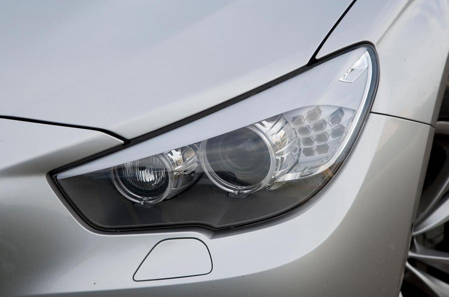 BMW 5 GT angel-eye headlamps