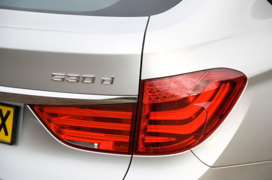 BMW 5 GT's rear lights