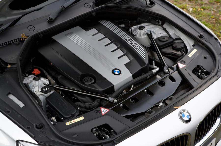 BMW 5 Series GT engine block