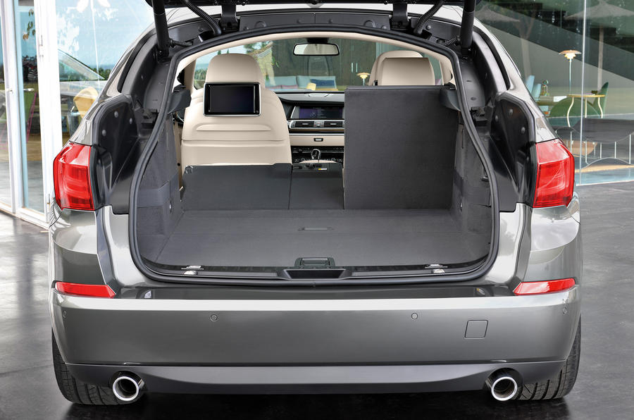 BMW 5 Series GT seating flexibility