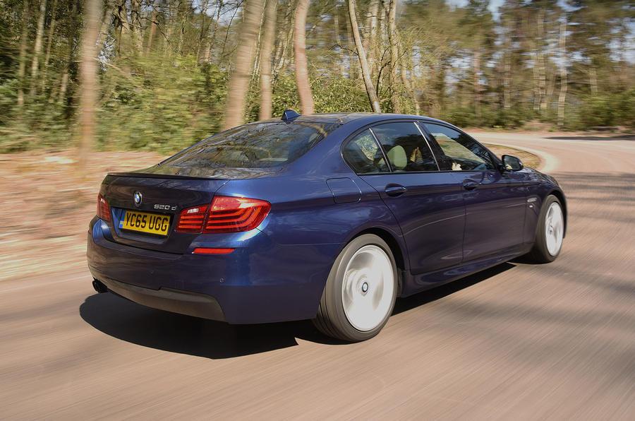 BMW 5 Series; BMW 5 Series Rear ...