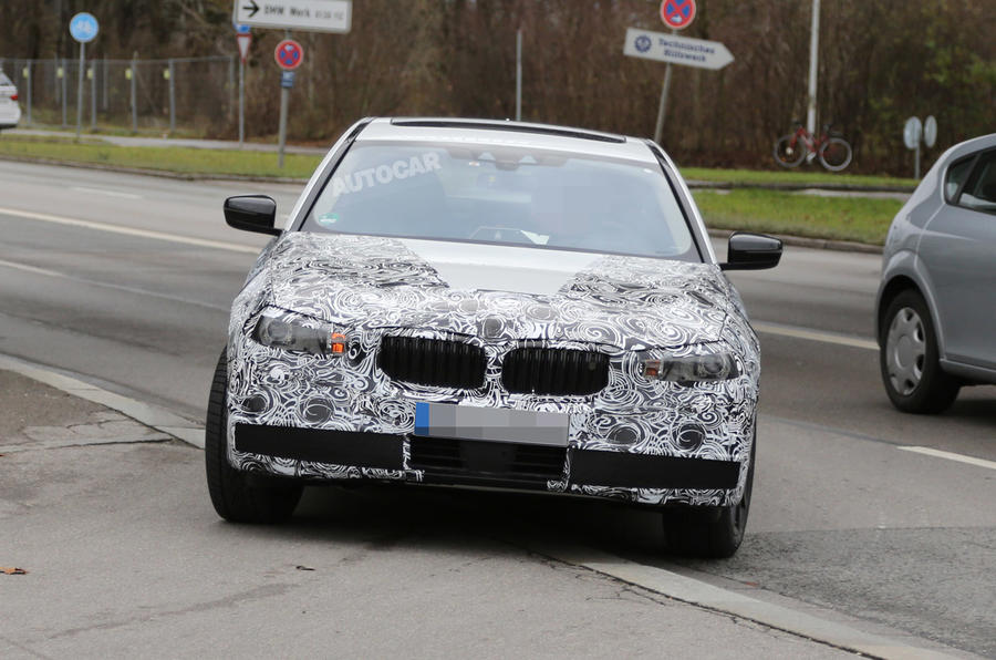 New BMW 5-series to launch in 2016 - first spy pictures