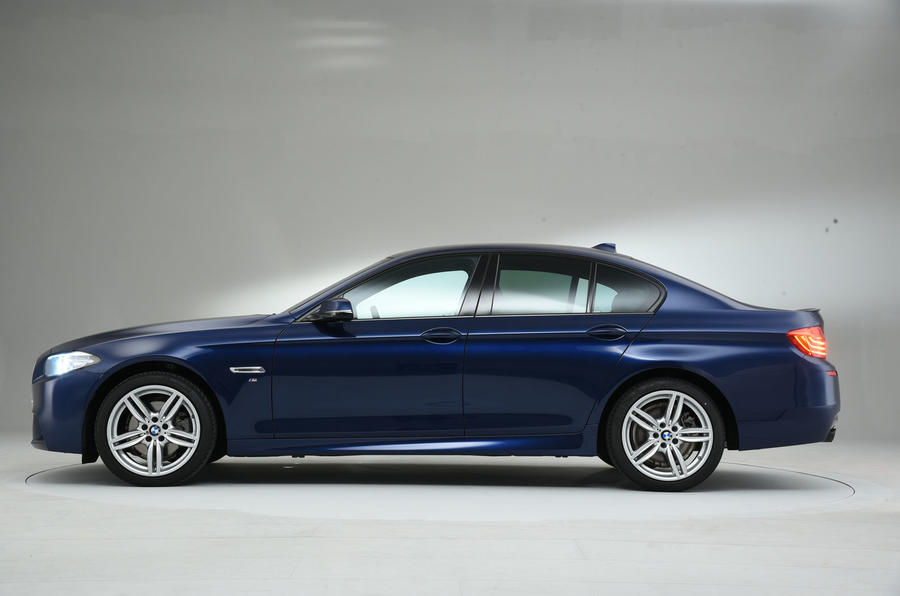 ... BMW 5 Series Side Profile ...