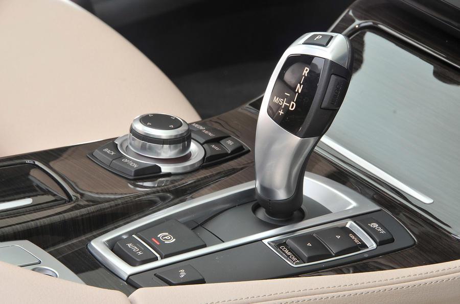 BMW 5 Series Touring auto box