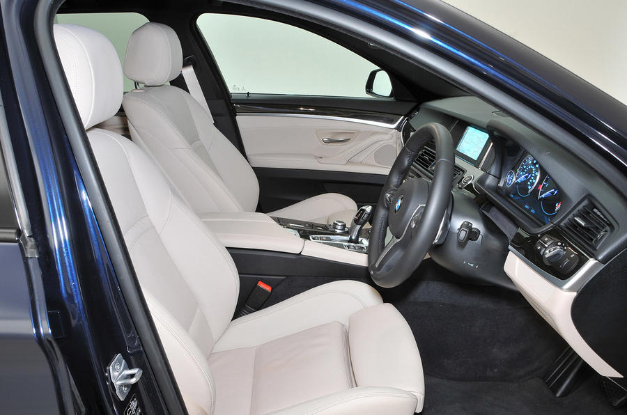 BMW 5 Series Touring interior