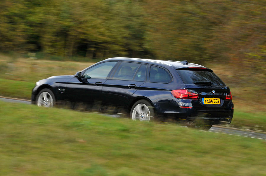 BMW 5 Series Touring rear