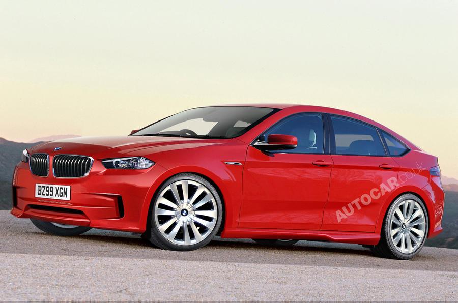 BMW 3-series GT caught testing