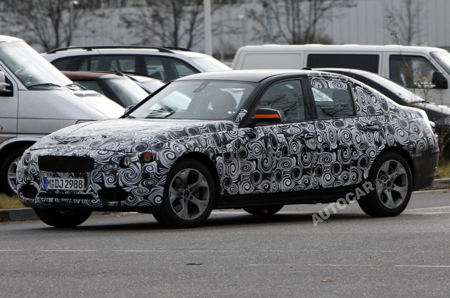 BMW 3-series GT caught testing