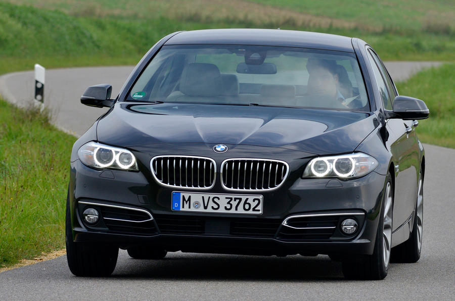 BMW 518d Luxury cornering