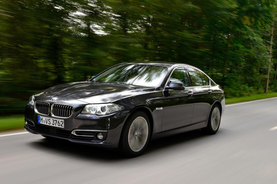BMW 518d Luxury front quarter
