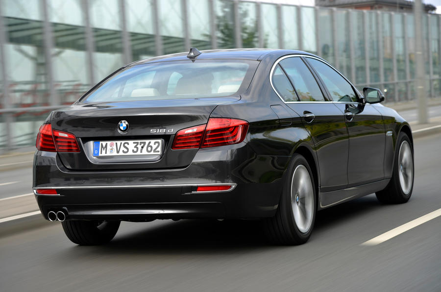 BMW 518d Luxury rear quarter