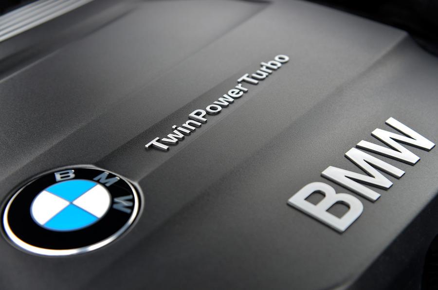 BMW twin-turbo engine