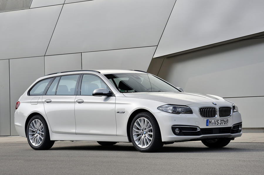 4 star BMW 520d Touring