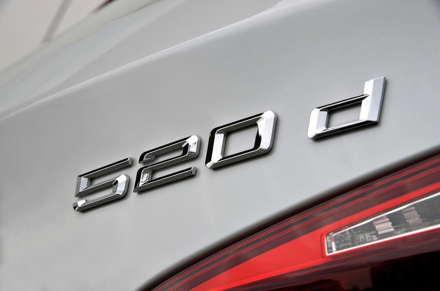 BMW 520d badging