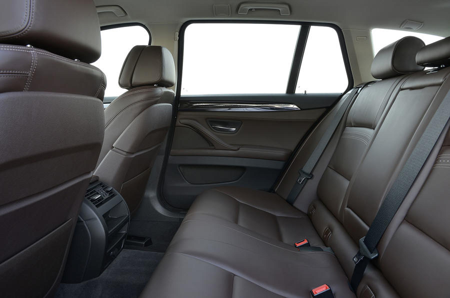 BMW 520d rear seats