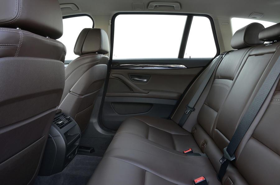 BMW 520d rear seats