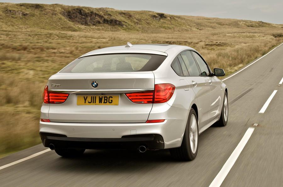 BMW 520d Gran Turismo rear