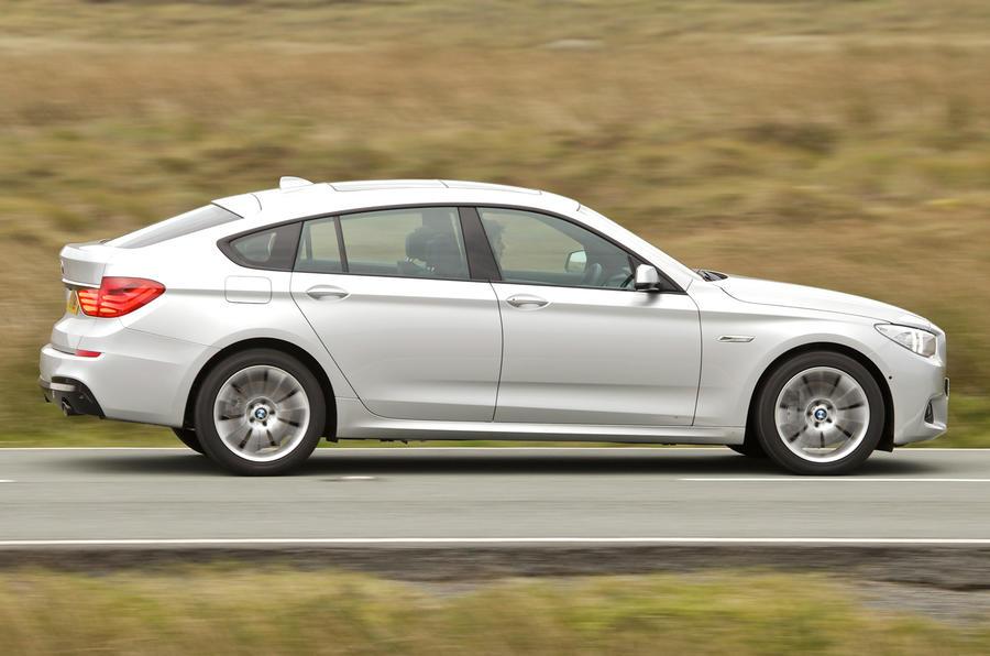 BMW 520d Gran Turismo side profile