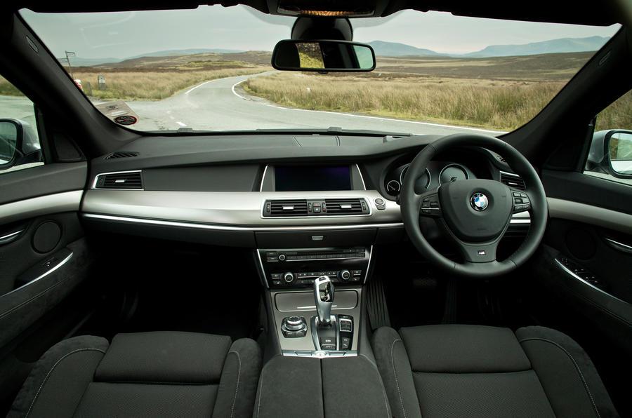 BMW 520d Gran Turismo dashboard
