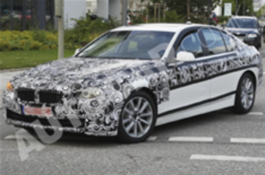 Next BMW 5-series spied