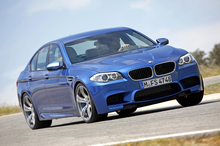 Frankfurt show: BMW M5 unveiled