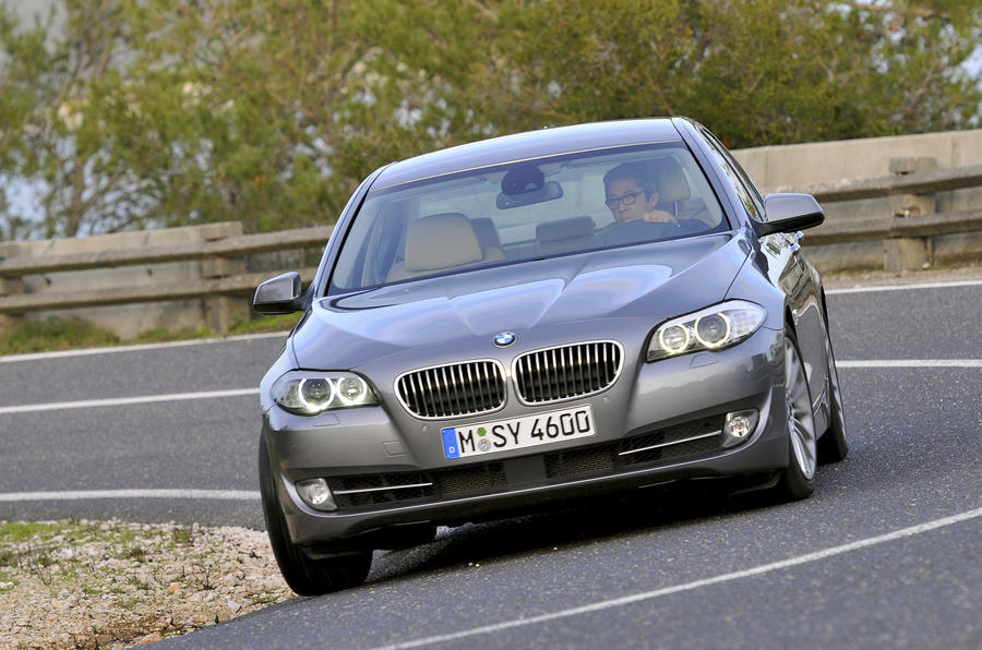 BMW 5-series to get stop-start