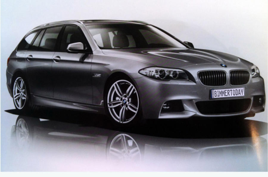 BMW 5series M Sport uncovered  Autocar