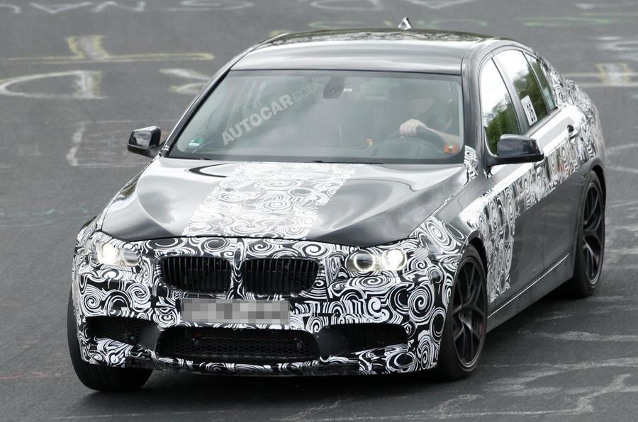 Next BMW M5 spied