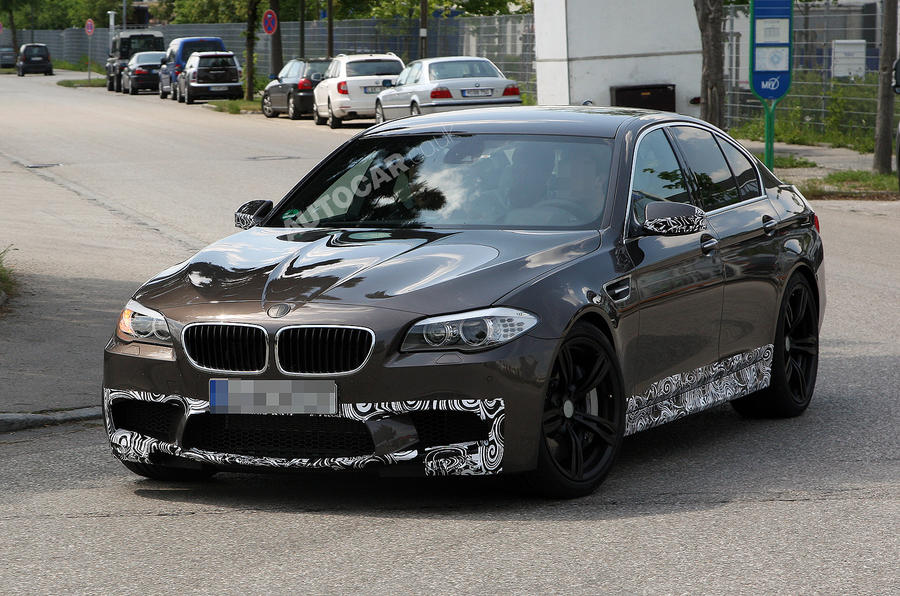 New BMW M5 scooped