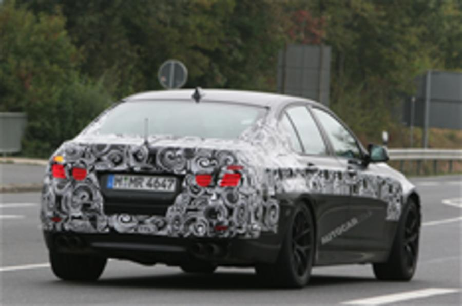 Spy pics reveal BMW M5 details