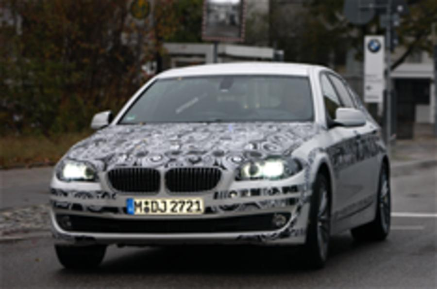 New BMW 5-series spied