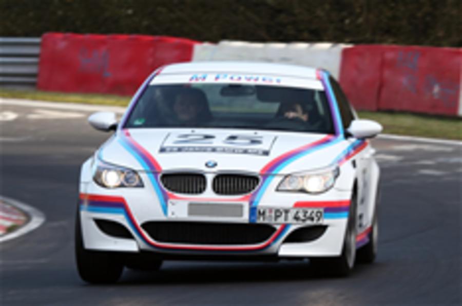 BMW builds an M5 CSL