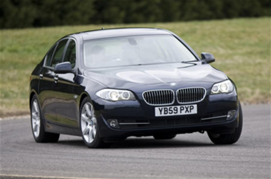 BMW 5-series 'sold out'