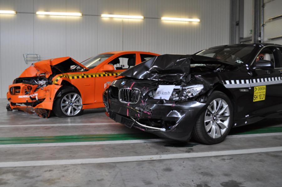 BMW, Alfa get top safety scores