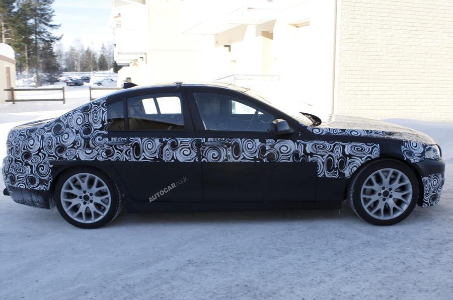 BMW M5 - new spy pics