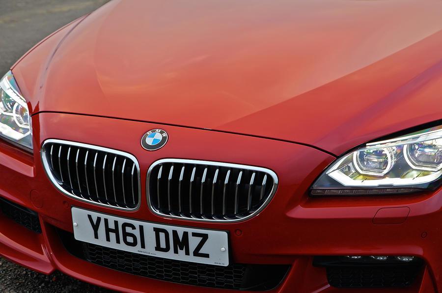 BMW 6 Series LED headlights